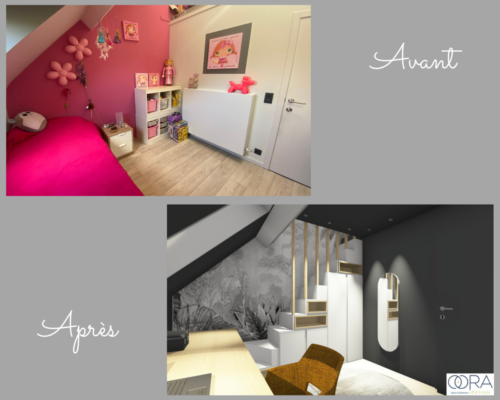 Projet-chambre-ado Avant-Après 2