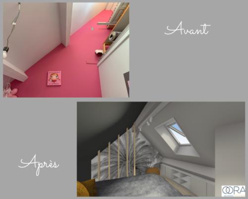 Projet-chambre-ado Avant-Après 3