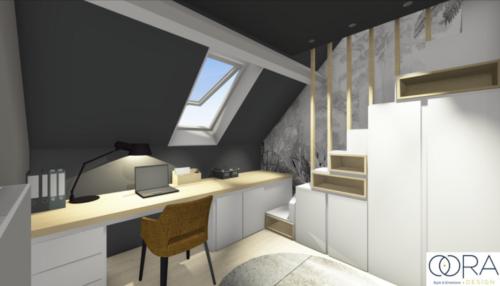 Projet Transformation-dune-chambre-denfant-en-chambre-dadolescent Octobre-2021 2